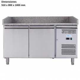 Mesa ingredientes para pizza DUG-PZ2600TN-FC
