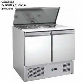 Mesa ensaladas DUG-S900-FC