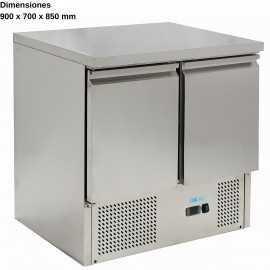 Mesas frias para ensaladas DUG-S901-FC