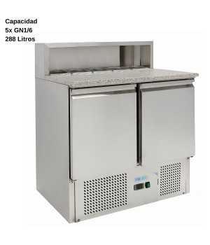Mesa de ensaladas granito DUG-PS900-FC