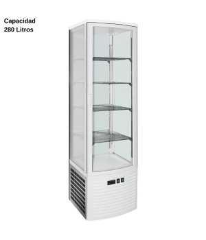 Expositor refrigerado Blanco 280L DUG-LSC280