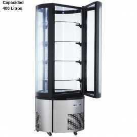 Expositor refrigerado Curvo 400L DUARC400RC