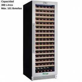 Cava de vinos de cristal 101 Botellas DUG-VI180S