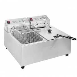 Freidora eléctrica doble 2x5 litros NIFC259