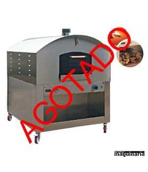 Horno combinado leña gas NTHLG105