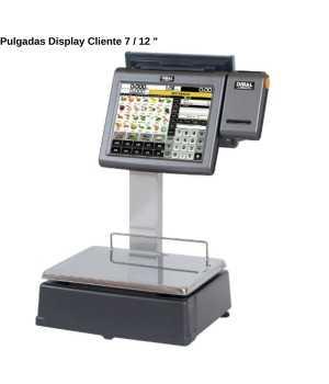 Balanza táctil 2 pantallas CYPES110000078