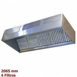 Campana cocina industrial 4 Filtros
