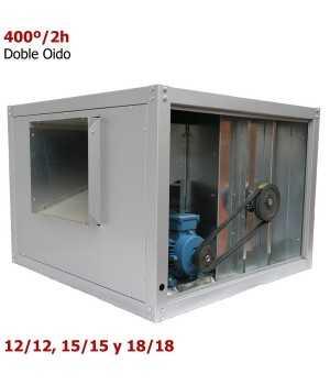 Extractor de humo industrial Grande Doble Oido 400º/2h