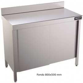 Mesa de trabajo con puerta Batible Mural 800x500 DIFMP50080