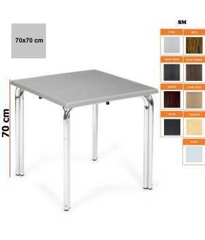 Mesa terraza doble pata