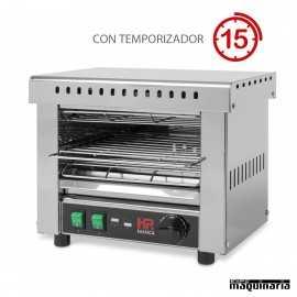 Tostador industrial con temporizador HRT02CON