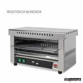 Tostador industrial sin temporizador HRT03SINB RESISTENCIAS BLINDADAS