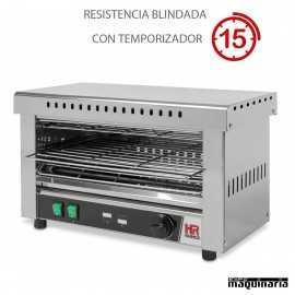 Tostador industrial con temporizador HRT03CONB con RESISTENCIAS BLINDADAS