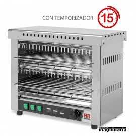 Tostador industrial doble con temporizador HRT06CON