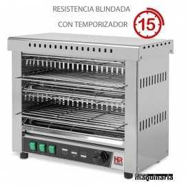 Tostador industrial con temporizador RESISTENCIAS BLINDADAS HRT06CONB