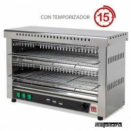 Tostador industrial grande con temporizador HRT09CON