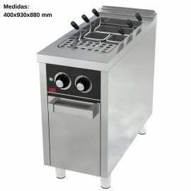 Cuece pastas gas 40L Fondo 90 IBER-CPG40L900E