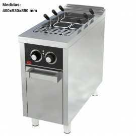 Cuece pastas electrico 40L Fondo 90