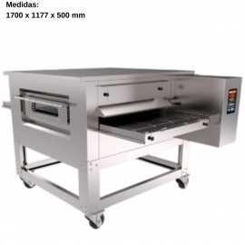 Horno pizza tunel Gas 50x75cm Interior CLTN-G 50