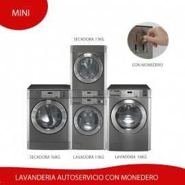 Kit Lavanderia Autoservicio Mini con Monedero