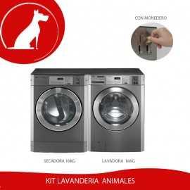 Kit Lavanderia Autoservicio Pelos de animal