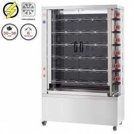 Maquina de asar pollos Vitrocerámica FE630-EKO-V