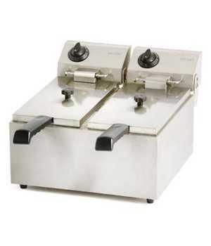 Freidora electrica FRIN17 ECO 4+4 Litros