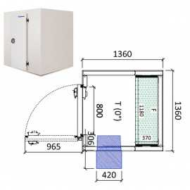 Camara frigorifica conservacion INPACKCAMARA1-R