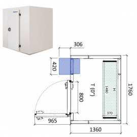 Camara frigorifica conservacion INPACKCAMARA2-R
