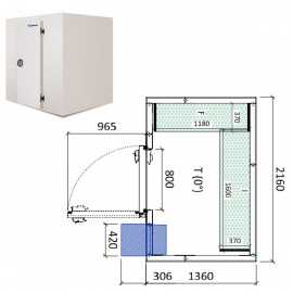 Camara frigorifica conservacion INPACKCAMARA3-R