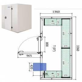 Camara frigorifica conservacion INPACKCAMARA6-R