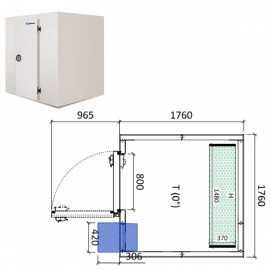 Camara frigorifica conservacion INPACKCAMARA7-R