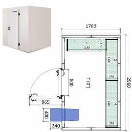 Camara frigorifica conservacion INPACKCAMARA9-R