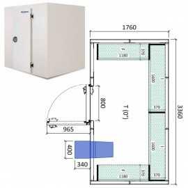 Camara frigorifica conservacion INPACKCAMARA10-R