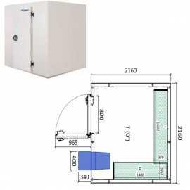 Camara frigorifica conservacion INPACKCAMARA12-R