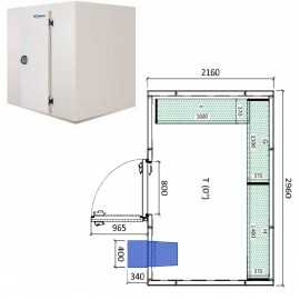 Camara frigorifica conservacion INPACKCAMARA14-R