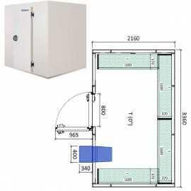 Camara frigorifica conservacion INPACKCAMARA15-R