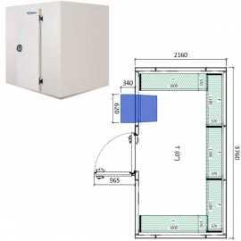 Camara frigorifica conservacion INPACKCAMARA16-R
