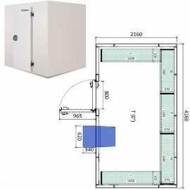 Camara frigorifica conservacion INPACKCAMARA17-R