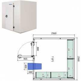 Camara frigorifica conservacion INPACKCAMARA18-R