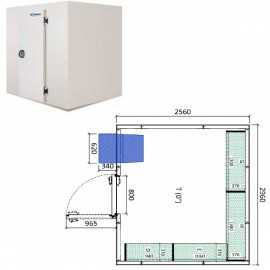 Camara frigorifica conservacion INPACKCAMARA19-R