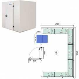 Camara frigorifica conservacion INPACKCAMARA21-R