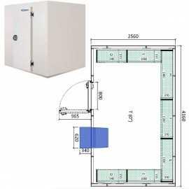 Camara frigorifica conservacion INPACKCAMARA22-R