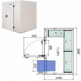 Camara congelador conservacion INPACKCAMARA4-C