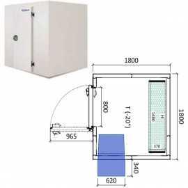 Camara congelador conservacion INPACKCAMARA7-C
