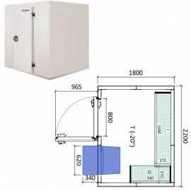 Camara congelador conservacion INPACKCAMARA8-C