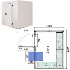 Camara congelador conservacion INPACKCAMARA9-C