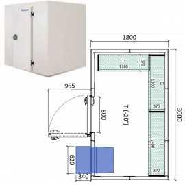 Camara congelador conservacion INPACKCAMARA10-C