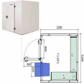 Camara congelador conservacion INPACKCAMARA12-C