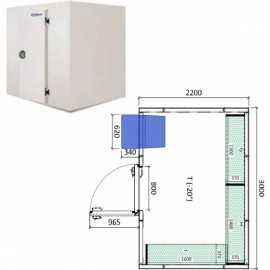 Camara congelador conservacion INPACKCAMARA14-C